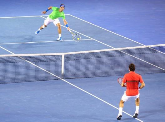 Roger+Federer+Rafael+Nadal+2012+Australian+Open+outfit+fashion